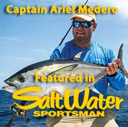Captain Ariel Medero featured article on Blackfin Tuna fishing in the Florida Keys